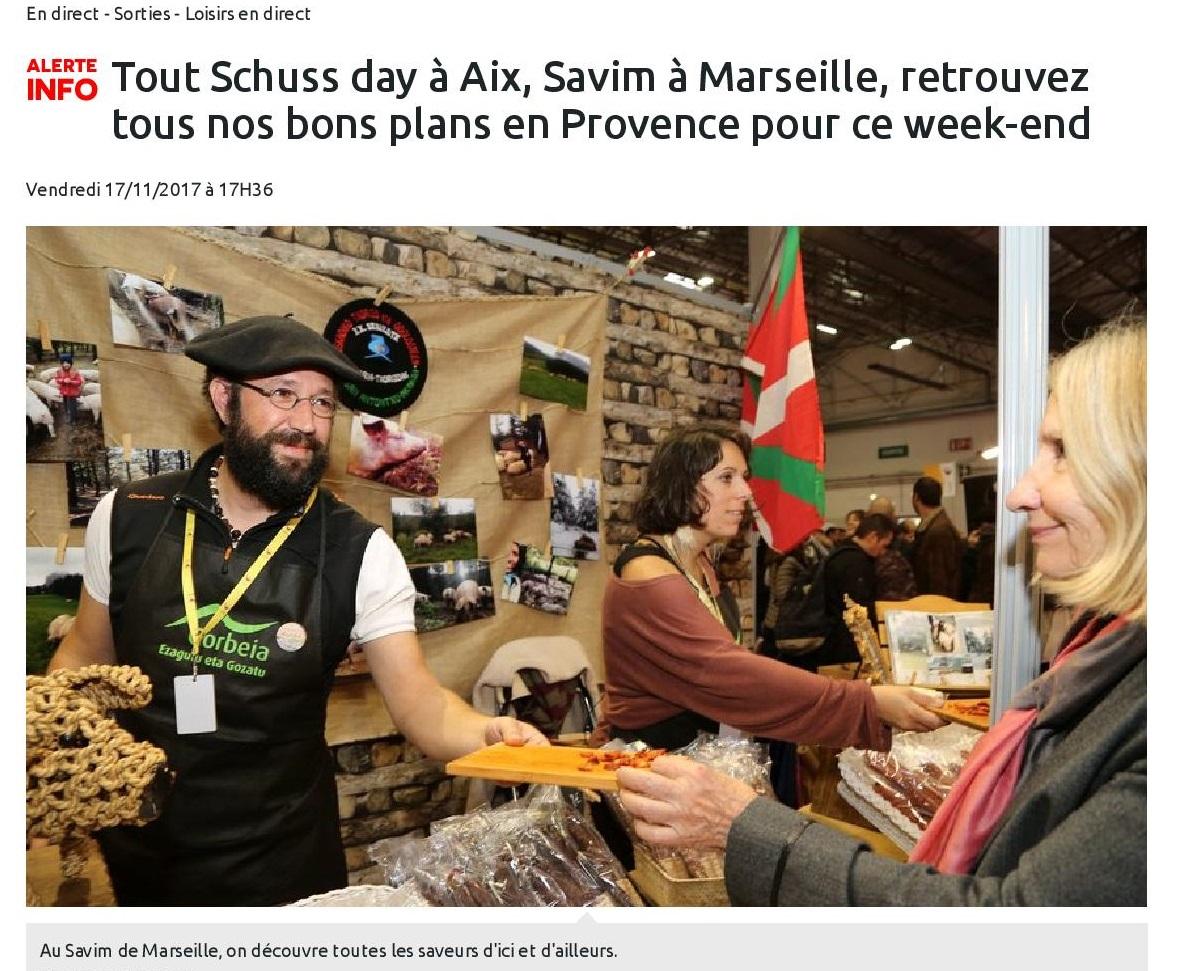 Savim à Marseille, retrouvez tous nos bons plans en Provence pour ce week-end