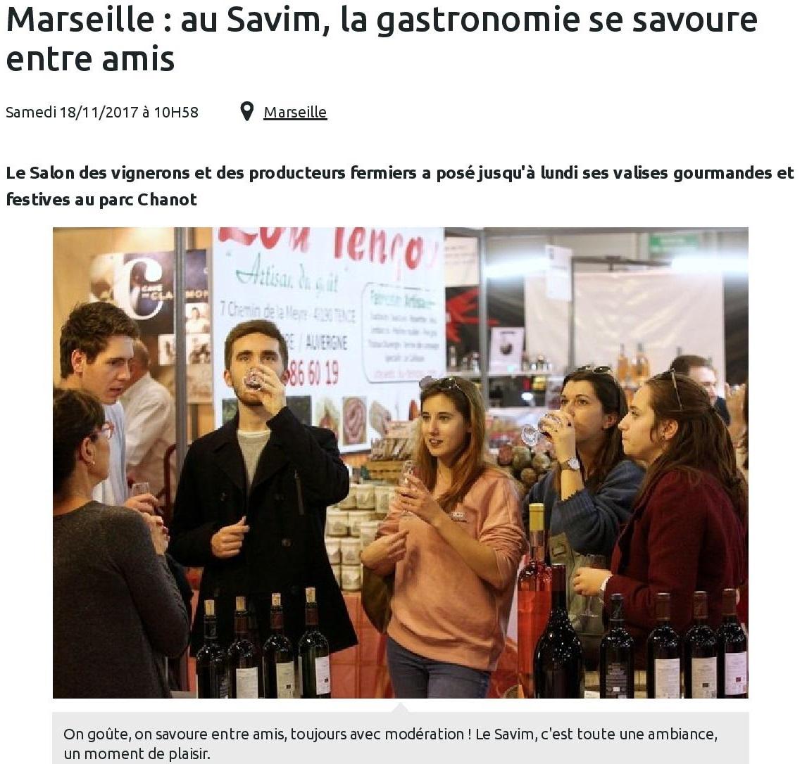 Marseille : au Savim, la gastronomie se savoure entre amis