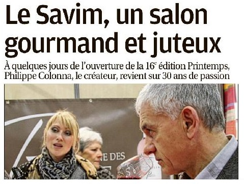 Le Savim de Marseille, un salon gourmand et juteux
