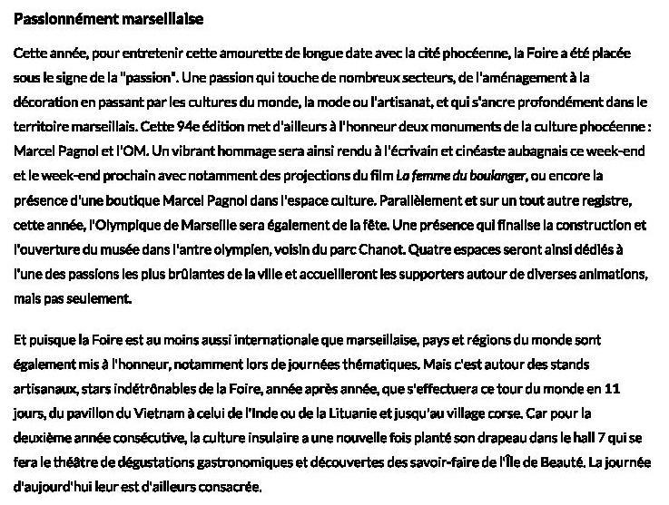La Foire de Marseille se lance dans une 94ème édition passionnée