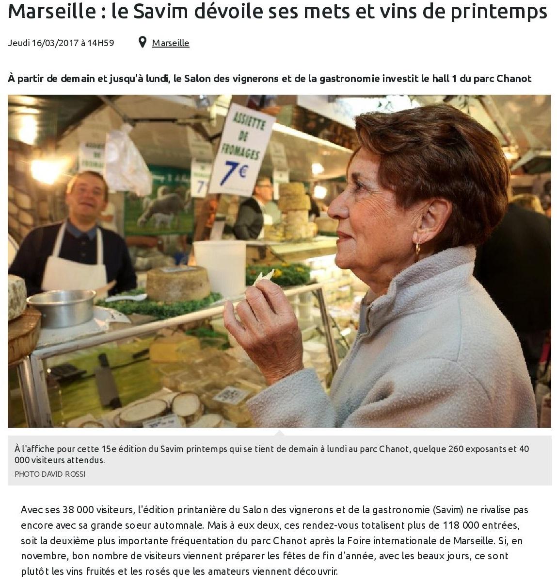 Marseille : le Savim dévoile ses mets et vins de printemps
