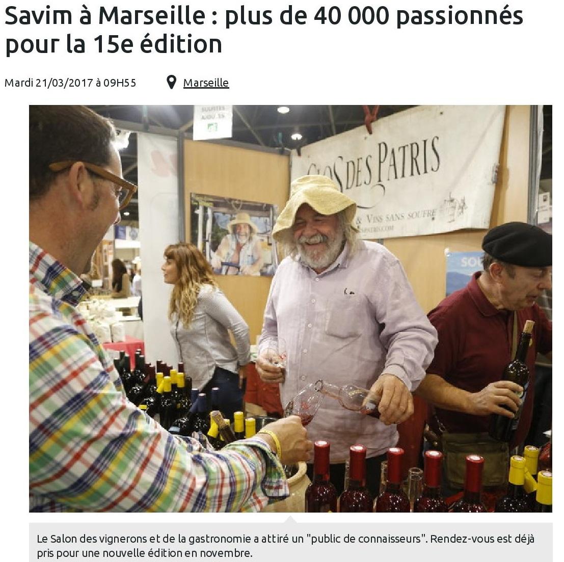 Savim à Marseille : plus de 40 000 passionnés pour la 15ème édition