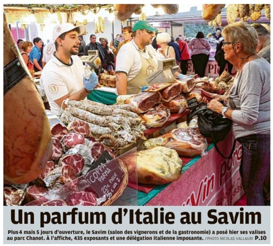 Un parfum d'Italie au Savim
