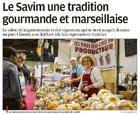 Le Savim une tradition gourmande et marseillaise